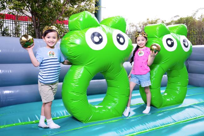 「童話充氣歷險樂」- 青蛙王子競技場