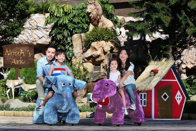 亞馬遜動物騎騎樂 01