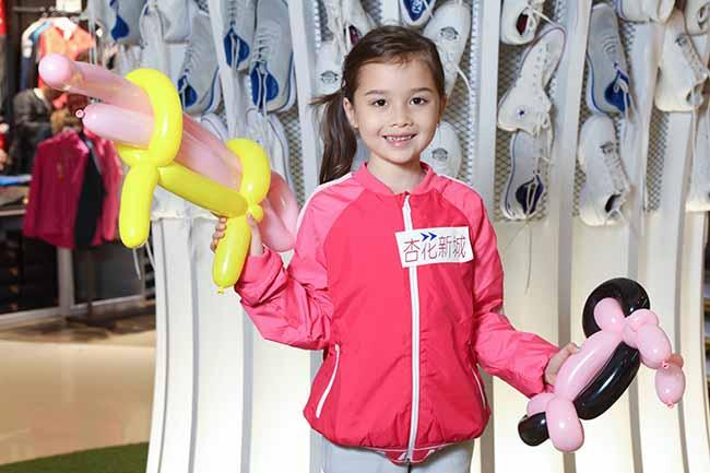 各款運動造型的氣球,為杏花新城帶來熾熱的運動氣氛!
