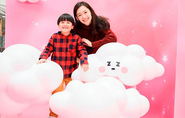 於「白雲朵朵」騰雲駕霧,拍出吸睛「呃like」照片2