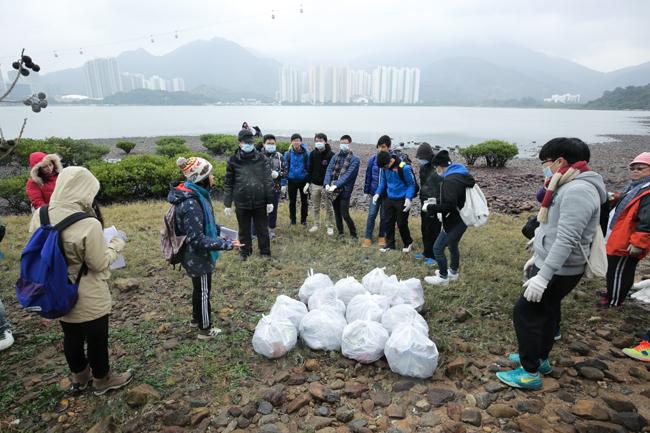 海灘清潔活動1