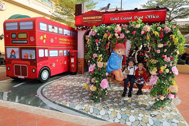 香港黃金海岸Paddington柏靈頓「熊」抱聖誕