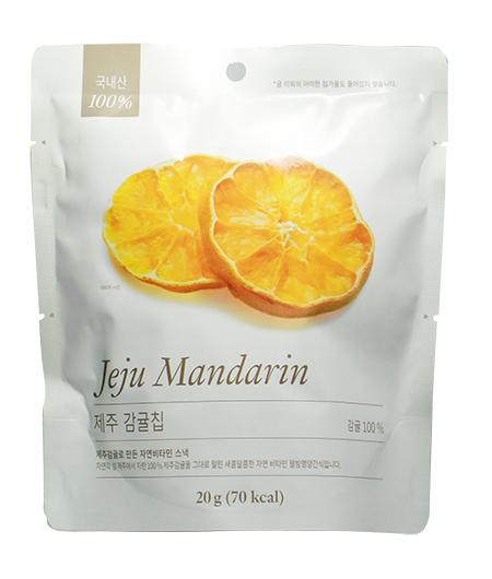 韓國濟洲柑橘脆 建議零售價:港幣30元