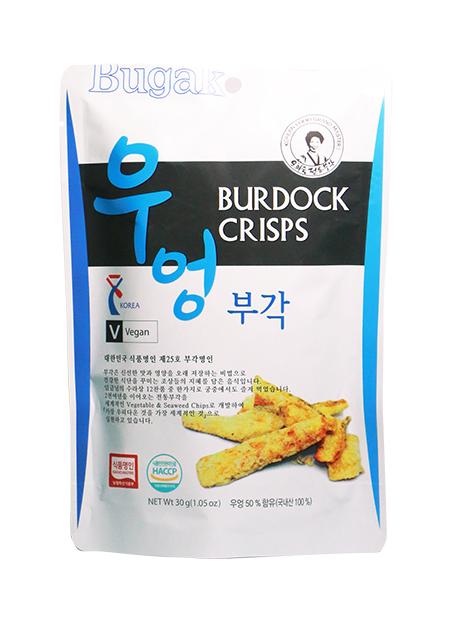 韓國牛蒡乾脆片 建議零售價:港幣30元