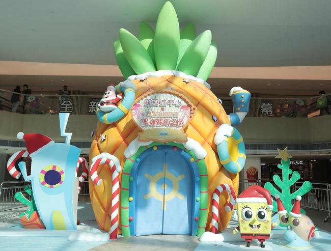 香氣滿溢的6.5米高巨型菠蘿屋,即時挑戰多重官感體驗。