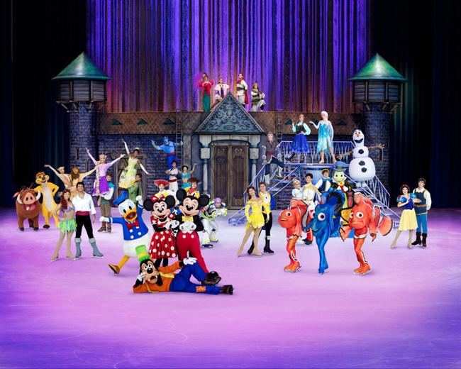 「冰上迪士尼之百年經典匯演」破天荒雲集超過50位迪士尼明星