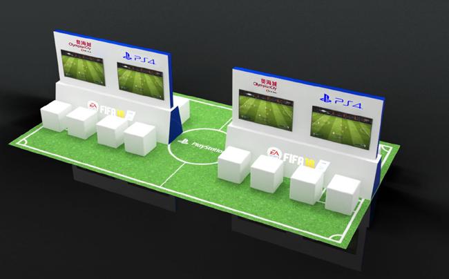 一眾球迷及機迷更萬勿錯過PlayStation4《FIFA 18》電競球王盃,於現場一決高下。
