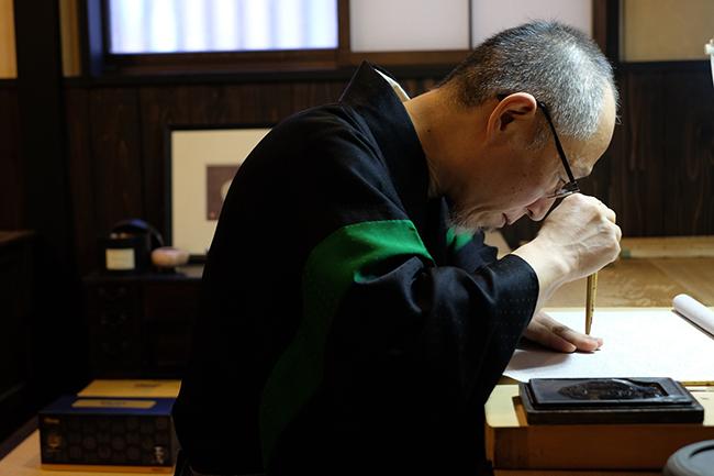 利奧坊舉辦「KAMON家紋日本傳統工藝之延續展」,更邀得日本著名家紋工作室「京源工作室」為利奧坊繪畫一個具代表性的家紋專屬圖案。