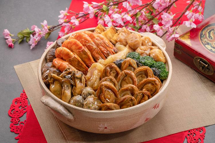 包羅萬有喜迎春盆菜