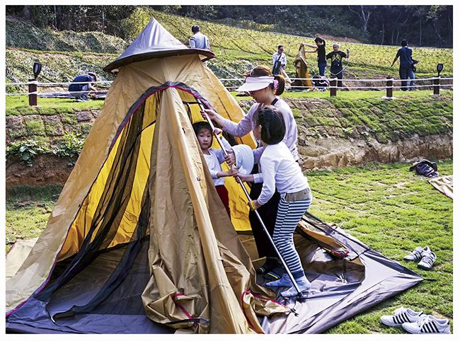 夏日兒童自理露營2
