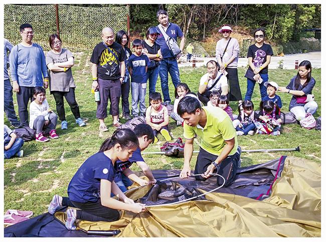夏日兒童自理露營3