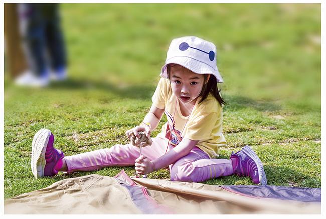 夏日兒童自理露營4