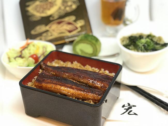 大鰻魚定食
