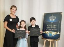 完成課程將會獲得利園區與Cue Children頒發的貴族禮儀班證書