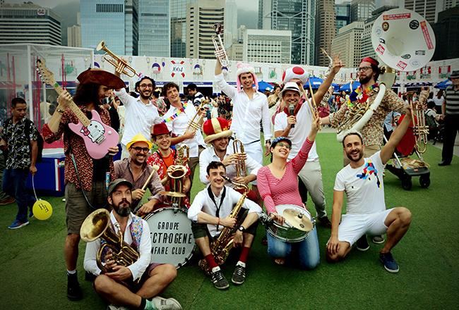法國嘉年華式銅管樂隊