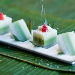 泰式榴梿斑兰西米糕