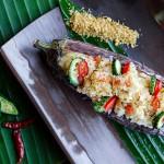 泰式茄子藜麦中东米沙律