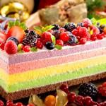 雜苺彩虹蛋糕