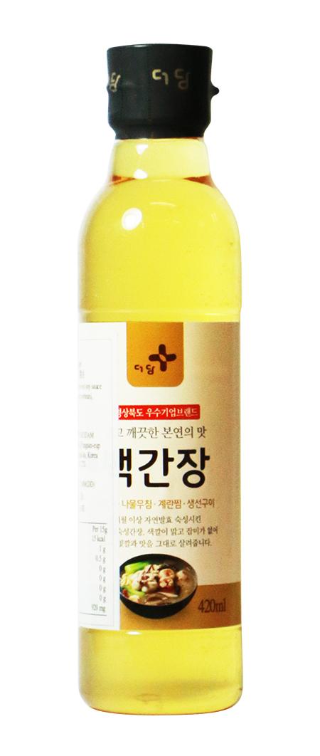 韓國白醬油 500g建議零售價:港幣40元