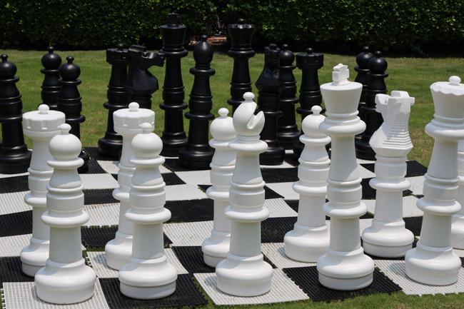 黃金海岸大型棋盤_國際象棋_1