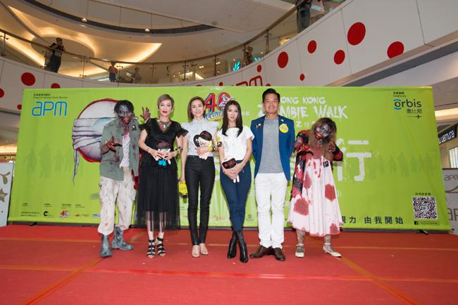 04_香港首屆喪Z行獲多位演藝界人士支持,啟動禮嘉賓包括余安安、薛凱琪、宣萱、鄭啟泰