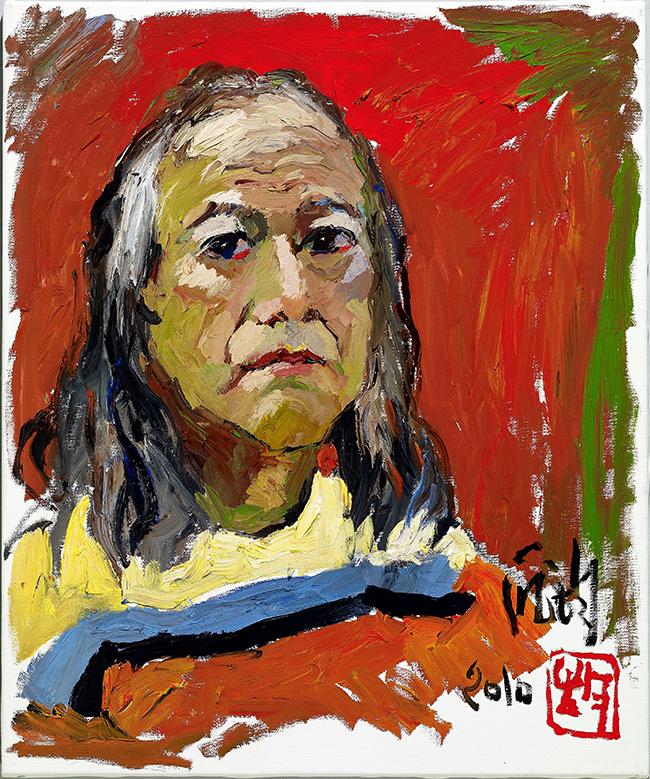 「六十年的约定——厐均油画展」