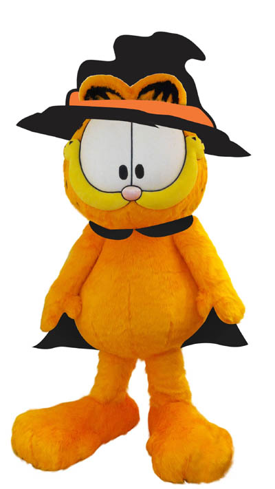 10. 巫師加菲貓