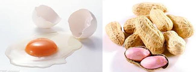 嬰兒早吃花生雞蛋防過敏