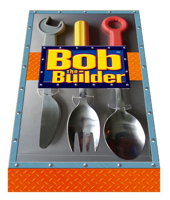 3. 皇室堡 x Bob the Builder建築師餐具套裝