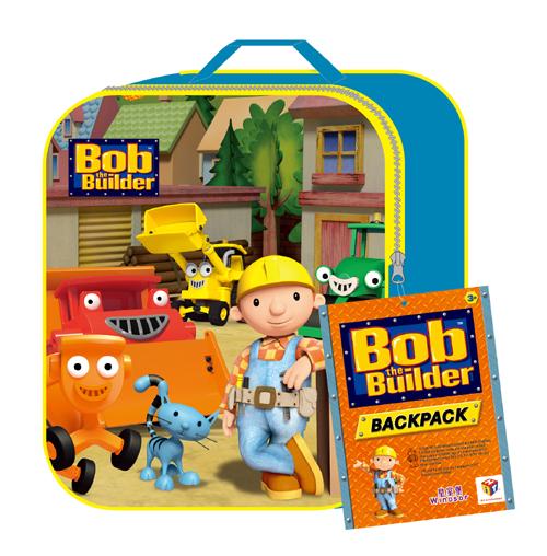 5. 皇室堡 x Bob the Builder兒童輕便背包