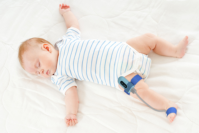 Wellue BabyO2嬰兒智能腳掌式睡眠監測儀