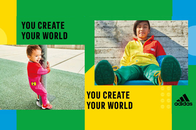 ADIDAS與丹麥玩具公司LEGO再度攜手合作