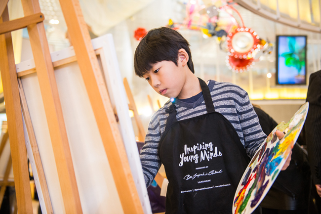 Award-winning 10-year-old Hong Kong artist Kenny Lau 2