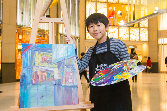 Award-winning 10-year-old Hong Kong artist Kenny Lau (4)