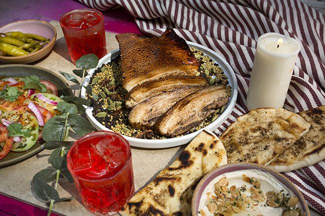 BEDU Festive Chef's menu