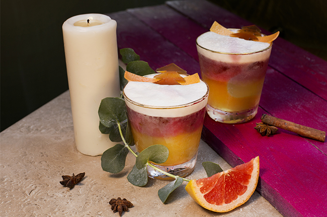 BEDU Festive Drink Ho Ho Holy Treat