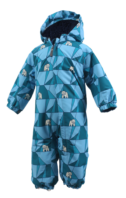 COLOR KIDS Rimah Mini Padded Coverall Aop $879 (Blue)