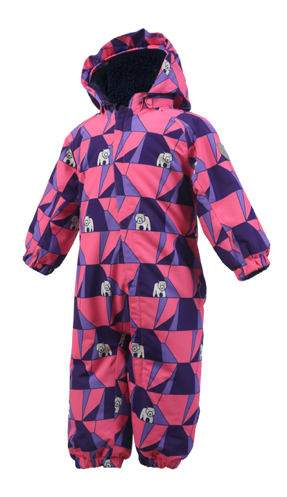 COLOR KIDS Rimah Mini Padded Coverall Aop $879 (Pink)