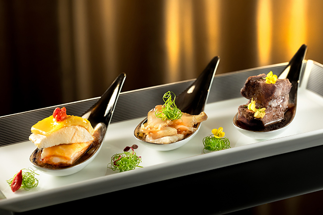 Chef's selected wine appetizer trio