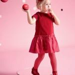 Child girl velvet dress