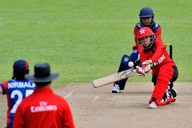 ICC 2016 Women¡¦s World Cup Asia Qualifier - Hong Kong vs Nepal