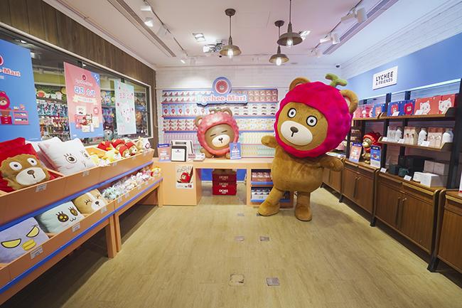 韓國LYCHEE & FRIENDS 全港首間Lychee-Mart