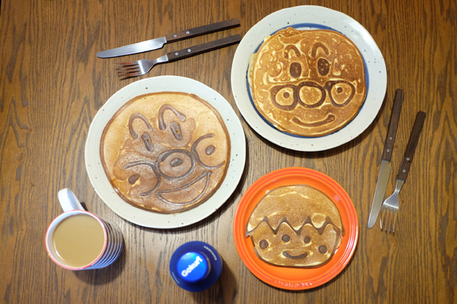 妈妈动手做 【为你的小朋友制作独一无二的pancake】