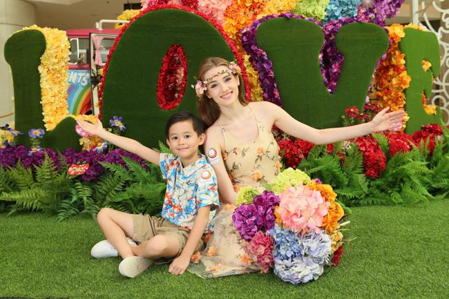 ELEMENTS圓方把繽紛的花兒變得更立體,為顧客帶來一段創意夢幻的繁花之旅!(2)