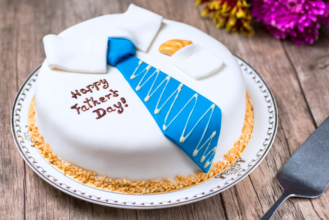 Father's Day Complimentary Cake