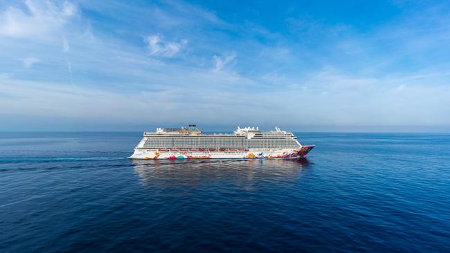星梦邮轮「云顶梦号」成功首航日本冲绳