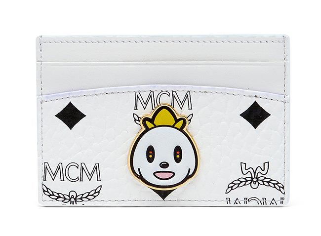 [HK$1,500]MCM X EDDIE KANG LOVELESS CARD CASE in visetos_WHITE