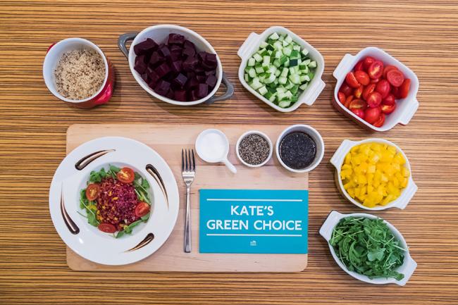 Kate's Green Choice 01