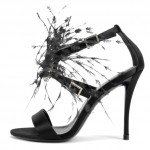 LANDMARK Exclusive_Roger Vivier_Sandal Sin Feather Strass