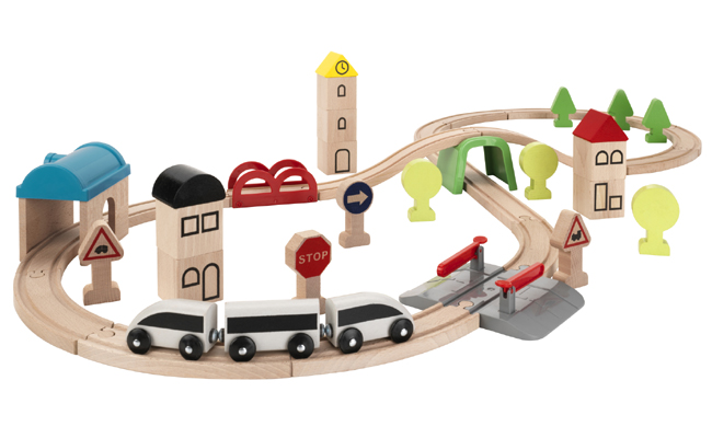 LILLABO 火車玩具組合 45件套裝